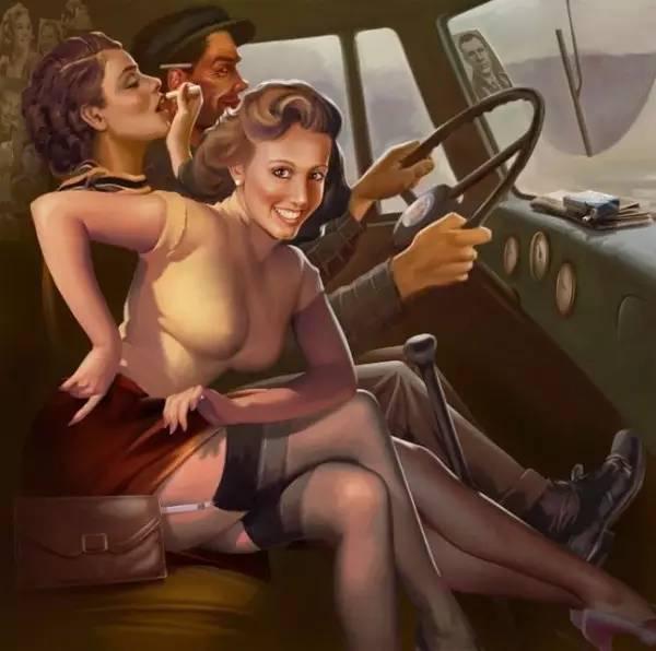 爱女人情色_苏联的情色招贴画长什么样?原来以前的人更懂玩内涵图