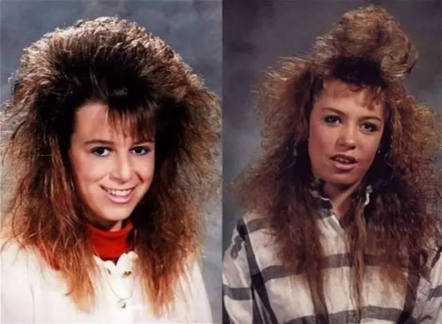 20世紀80年代國外的流行發型,頭發越大,越是時尚霸主!圖片