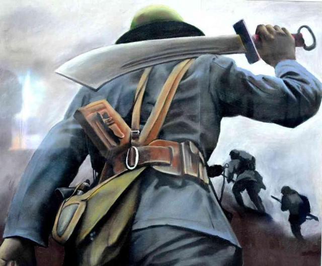 白刃战中,大刀能干得过鬼子的刺刀?
