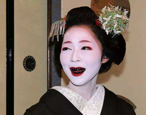 深受日本女性喜爱的恐怖妆容,居然与中国有关