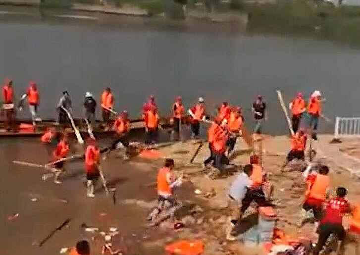 端午节江西南昌两龙舟队群殴,背后原因让人无语