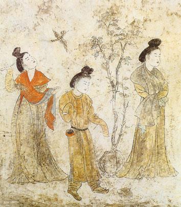 爱人在政变中丧生,安乐公主为他报仇,然后快乐嫁人